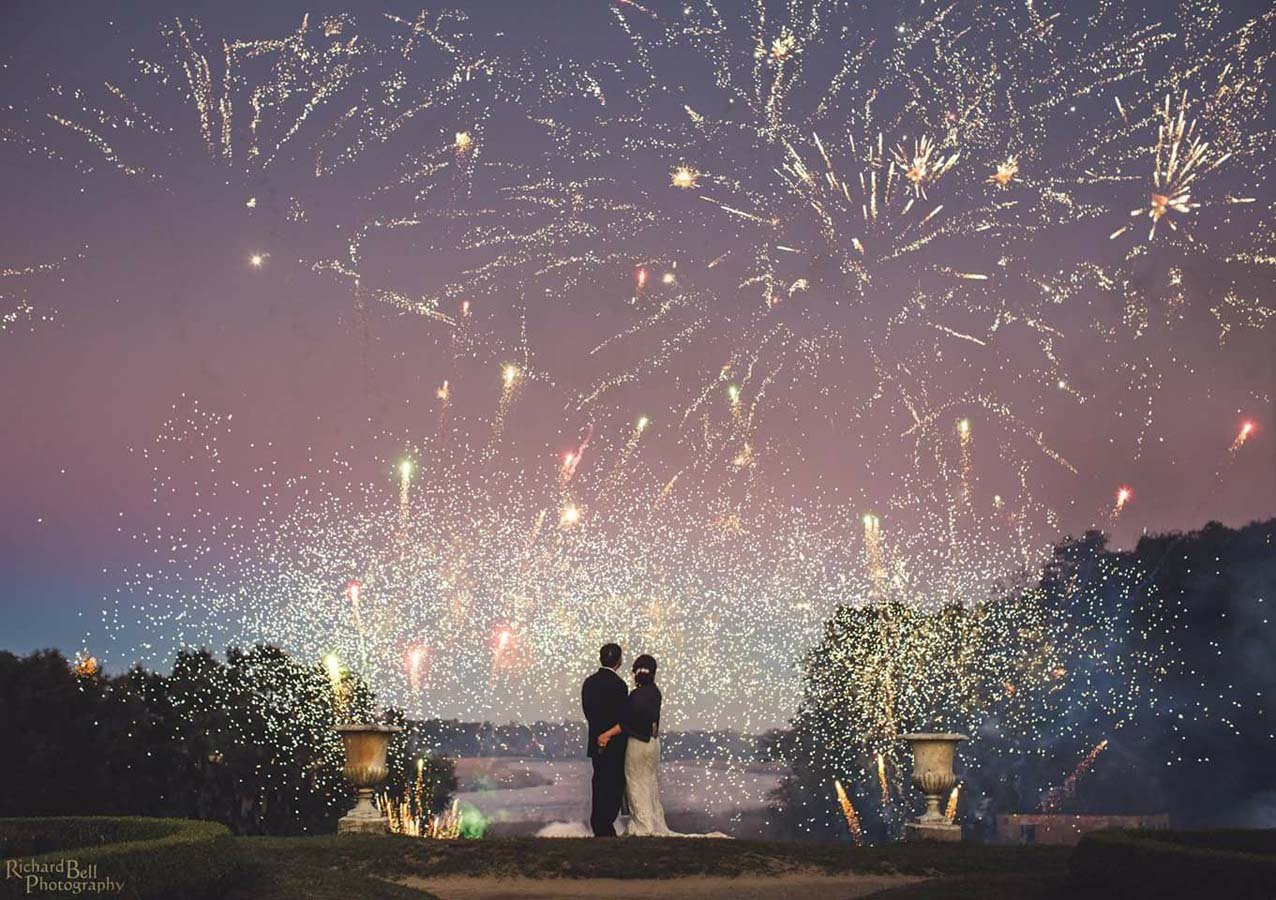 Charleston Wedding Fireworks